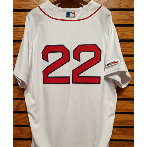 Photo of Rick Porcello #22 Team Issued Home White Jersey