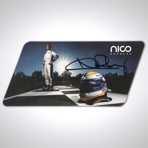 Photo of Nico Rosberg Williams-Toyota Signed Driver Card