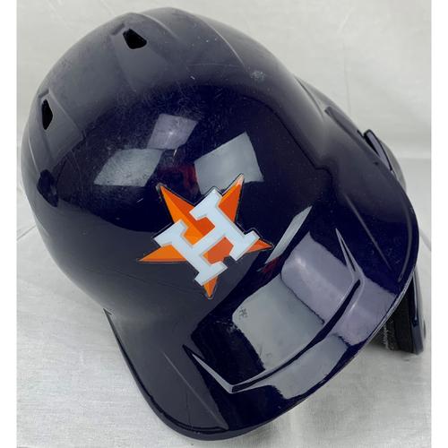 Photo of Yuli Gurriel 2020 Postseason Game Used Helmet
