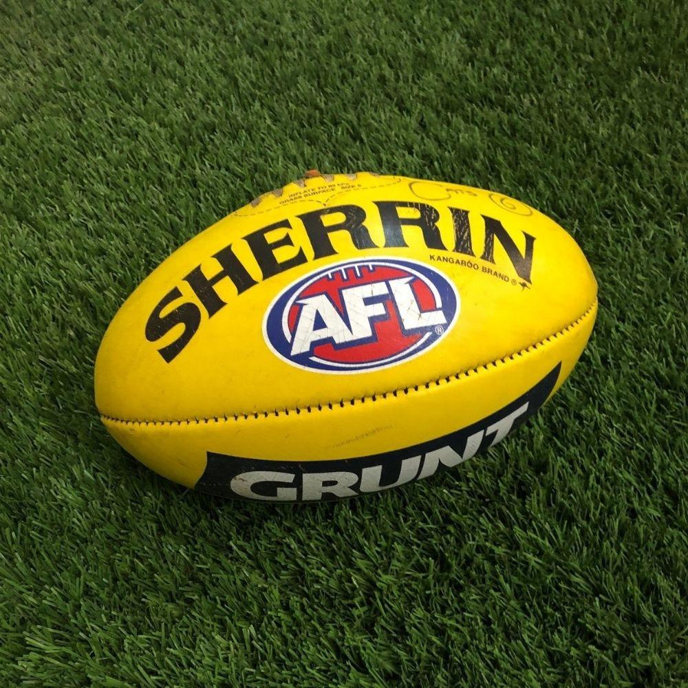 Carlton 2021 Round 17 Match Used Ball - #6