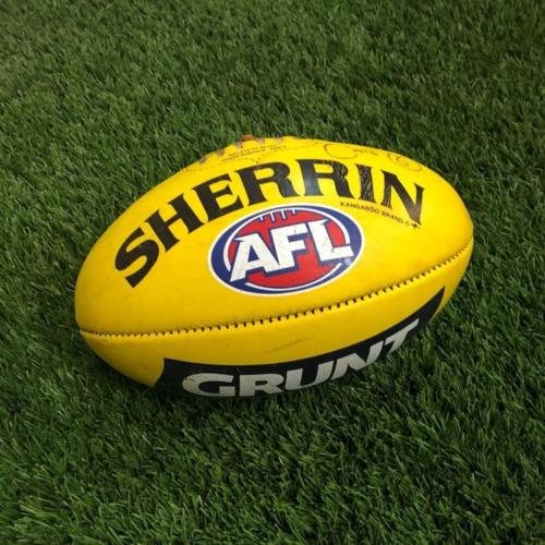 Photo of Carlton 2021 Round 17 Match Used Ball - #6