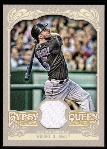 Photo of 2012 Topps Gypsy Queen Relics #DW David Wright