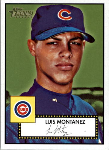 Photo of 2001 Topps Heritage #95 Luis Montanez RC