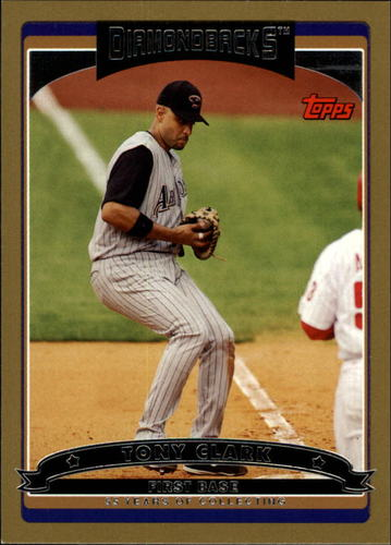 Photo of 2006 Topps Gold #378 Tony Clark