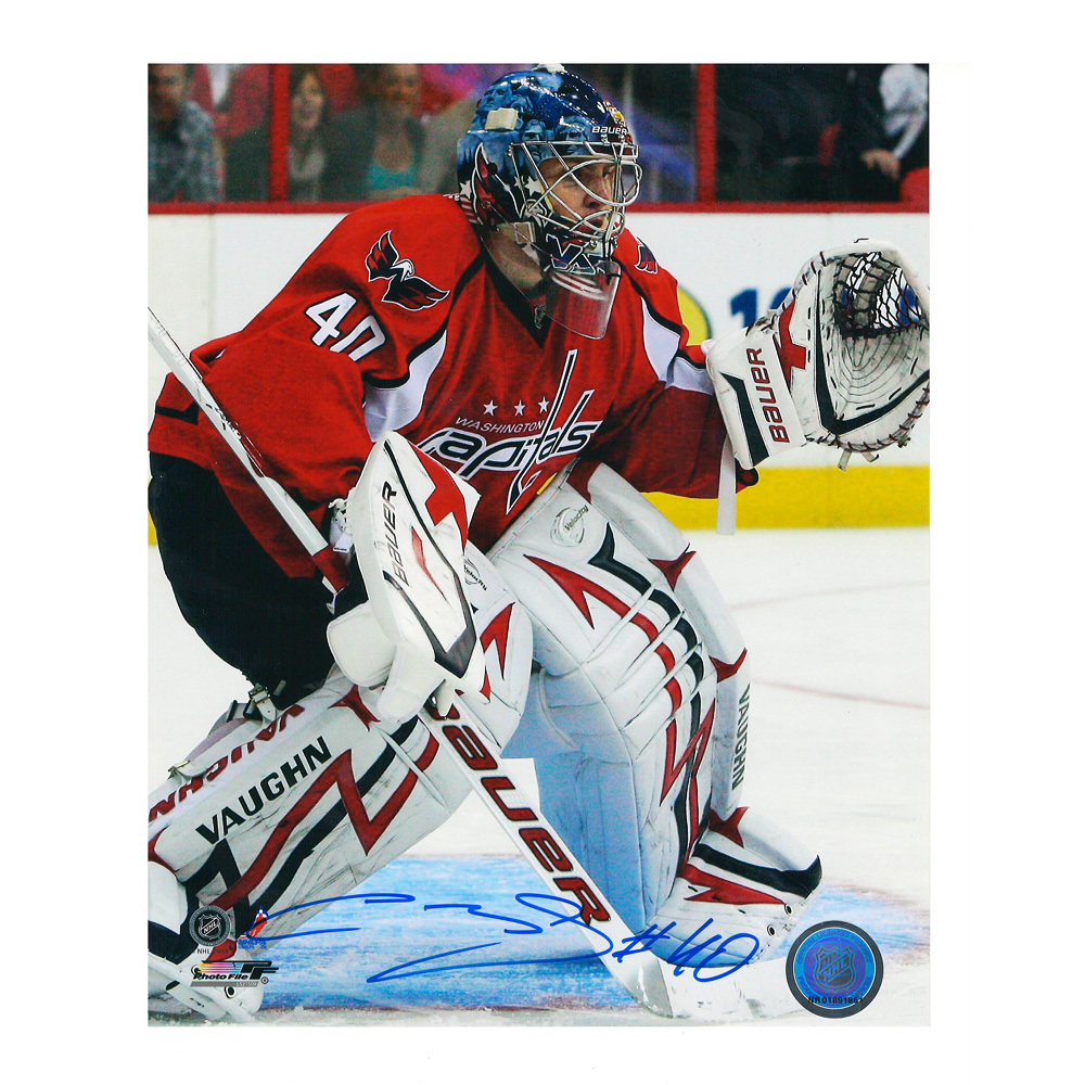 SEMYON VARLAMOV Signed Washington Capitals Portrait 8 X 10 Photo - 70256