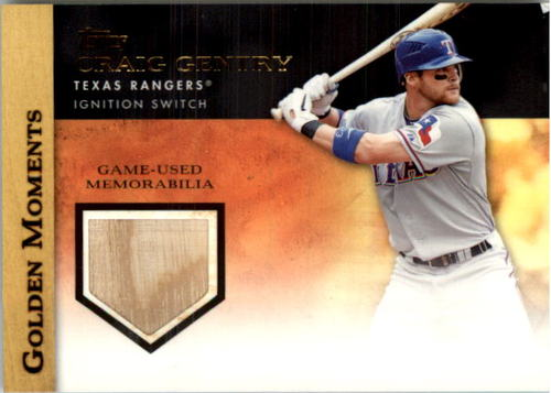 Photo of 2012 Topps Golden Moments Relics #CGE Craig Gentry