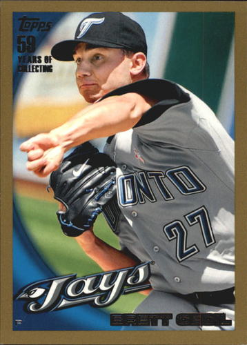 Photo of 2010 Topps Gold Border #338 Brett Cecil