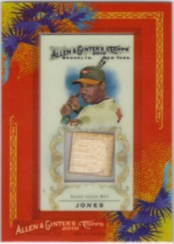 Photo of 2010 Topps Allen and Ginter Relics Adam Jones