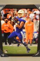 CHARGERS - HUNTER HENRY SIGNED 11X14 FRAMED PHOTO
