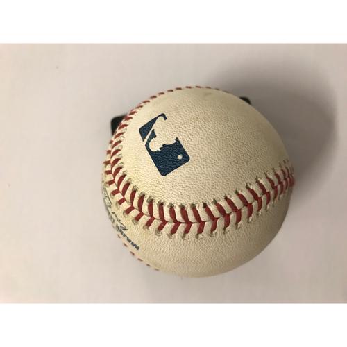 Photo of Freddie Freeman Game Used Hit Double Baseball - 6/14/2018