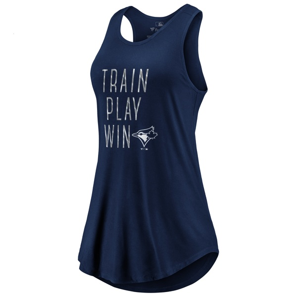 Toronto Blue Jays Women's Train, Play, Win Tank Top by Majestic