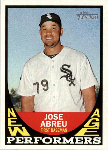 Photo of 2016 Topps Heritage New Age Performers #NAPJA Jose Abreu