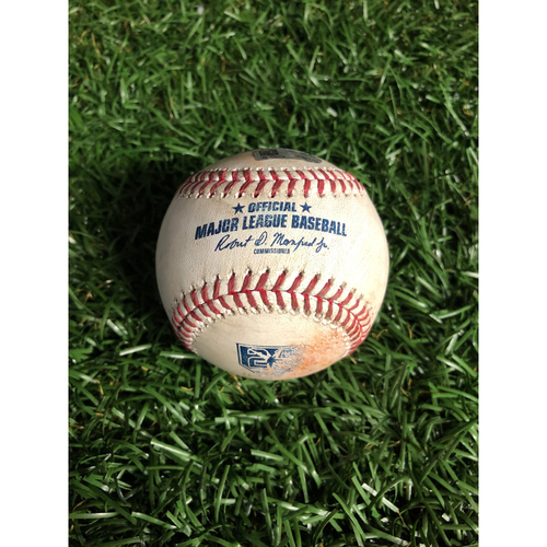 Photo of 20th Anniversary Game Used Autographed Baseball: Charlie Morton strikes out Daniel Robertson - July 1, 2018 v HOU