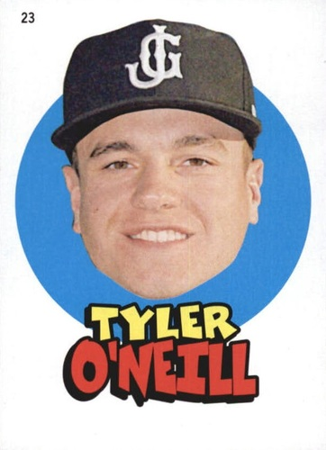 Photo of 2016 Topps Heritage Minors '67 Topps Stickers #23 Tyler O'Neill