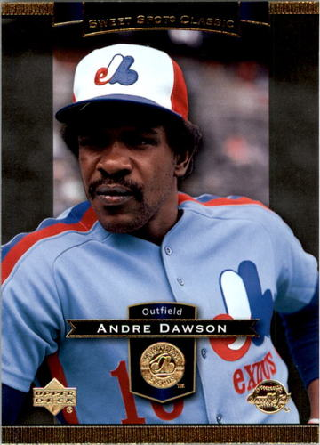 Photo of 2003 Sweet Spot Classics #3 Andre Dawson