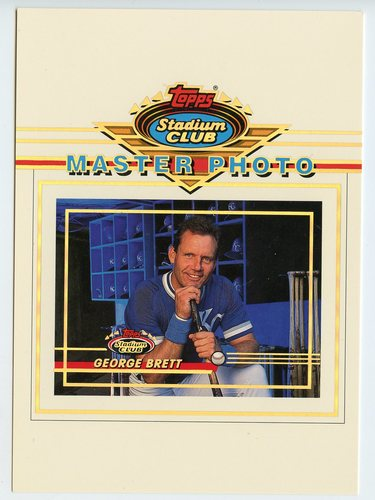 Photo of 1993 Stadium Club Master Photos #13 George Brett