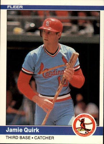 Photo of 1984 Fleer #332 Jamie Quirk