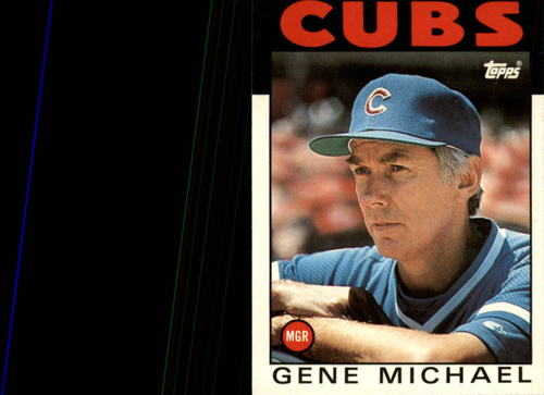Photo of 1986 Topps Traded #73T Gene Michael MG