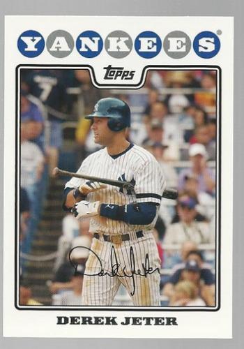 Photo of 2008 Topps #455 Derek Jeter