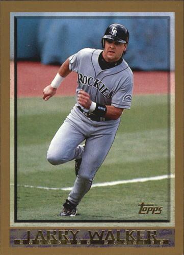 Photo of 1998 Topps #2 Larry Walker