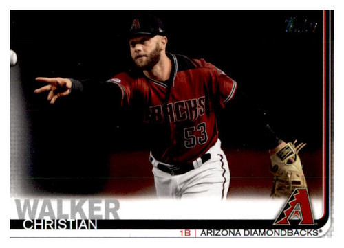 Photo of 2019 Topps Update #US18 Christian Walker