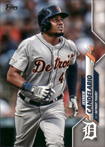 Photo of 2020 Topps #243 Jeimer Candelario