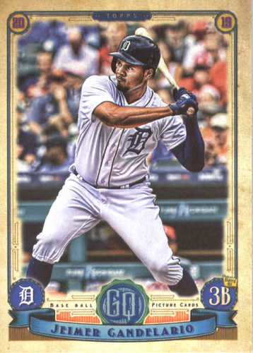 Photo of 2019 Topps Gypsy Queen #44 Jeimer Candelario