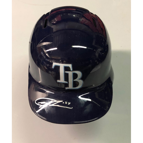 Photo of Team Issued Autographed Helmet: Trevor Richards