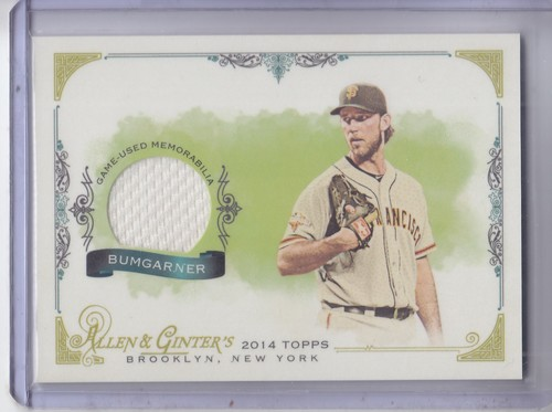 Photo of 2014 Topps Allen and Ginter Relics #FSRMB Madison Bumgarner