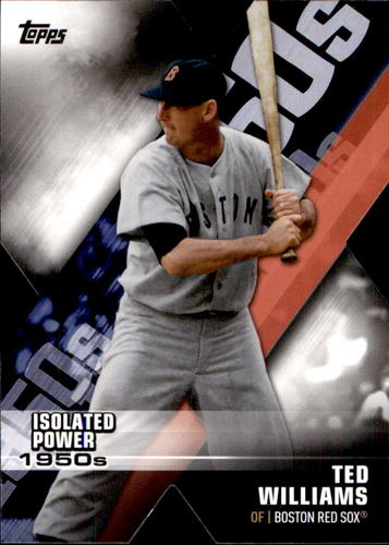 Photo of 2020 Topps Decade of Dominance #DOD16 Ted Williams
