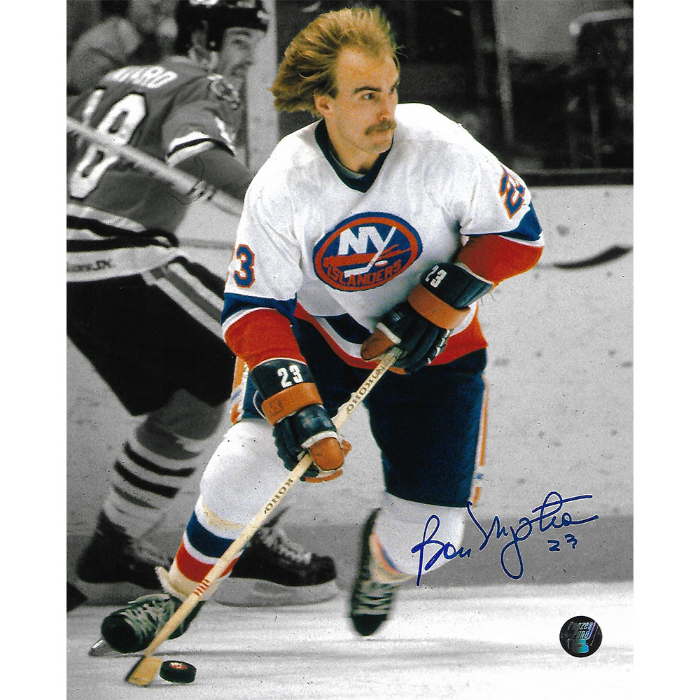 Bob Nystrom Autographed New York Islanders 8X10 Photo