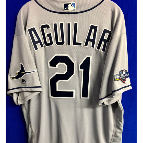 Photo of Team Issued Postseason Jersey: Jesus Aguilar