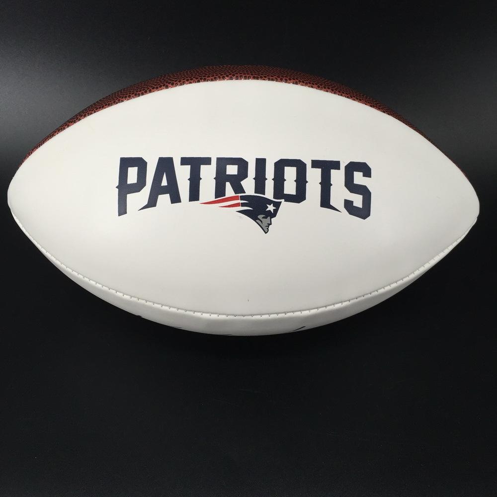 Patriots - Kyle Van Noy Signed Panel Ball w/ Patriots Logo (Slight Smudge)