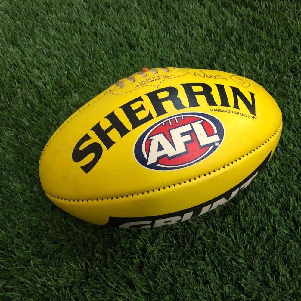 Carlton 2021 Round 19 Match Used Ball - #3