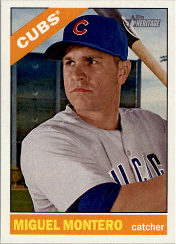 Photo of 2015 Topps Heritage #104 Miguel Montero