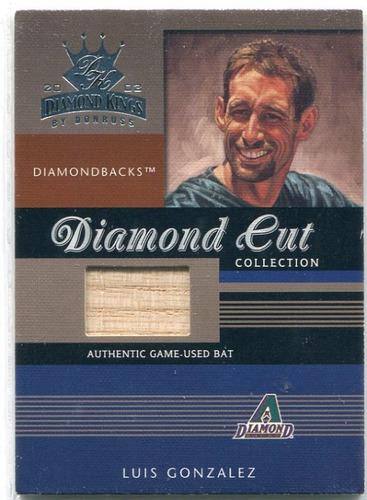 Photo of 2003 Diamond Kings Diamond Cut Collection #103 Luis Gonzalez Bat/500