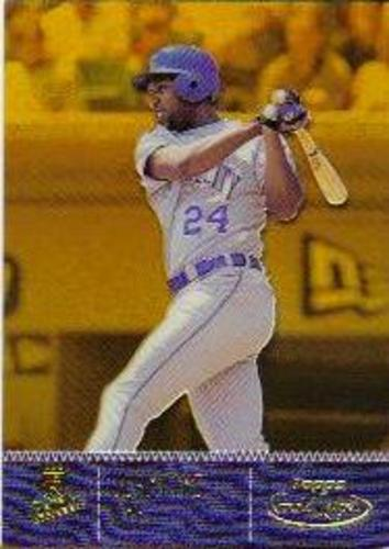 Photo of 2001 Topps Gold Label Class 2 Gold #50 Jermaine Dye