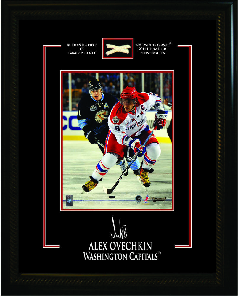 detailed look 0024f 7cbda Alexander Ovechkin - Framed 8x10 Washington Capitals Etched ...