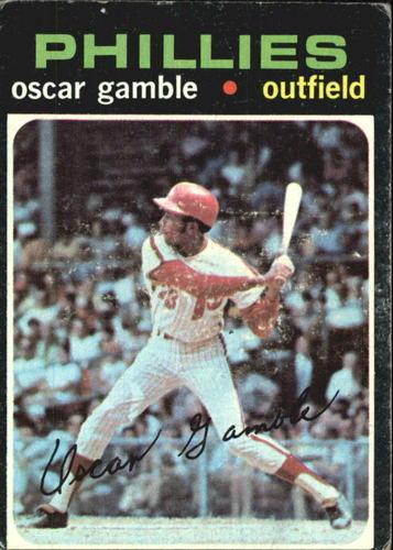 Photo of 1971 Topps #23 Oscar Gamble