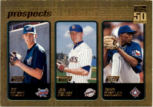 Photo of 2001 Topps Gold #728 Jake Peavy UER/Last name spelled Peavey