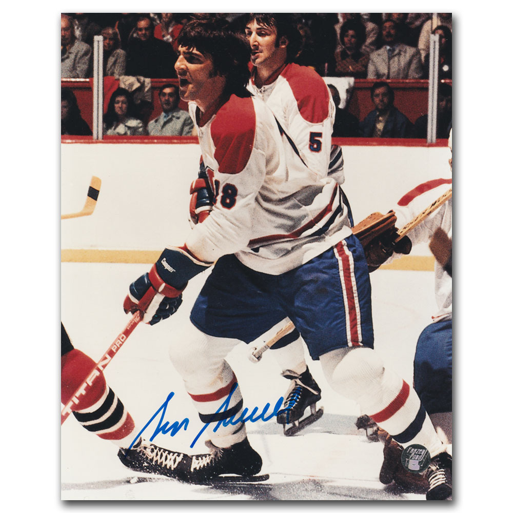 Serge Savard Autographed Montreal Canadiens 8X10 Photo