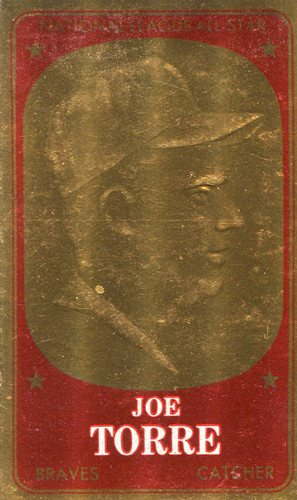 Photo of 1965 Topps Embossed #12 Joe Torre
