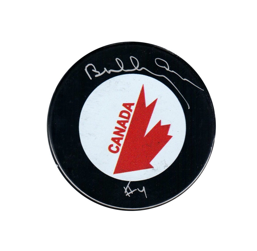 Bobby Orr - Signed 1976 Canada Cup Logo Puck