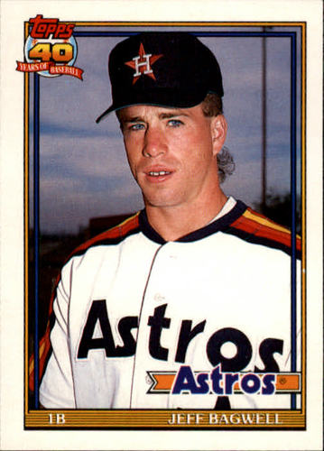 Photo of 1991 Topps Traded #4T Jeff Bagwell Rookie Card