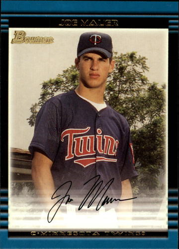Photo of 2002 Bowman #379 Joe Mauer Rookie Card