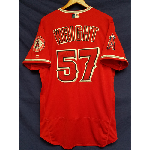 Photo of Daniel Wright Alternate Red Team-Issued Jersey