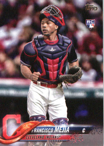 Photo of 2018 Topps #244 Francisco Mejia RC