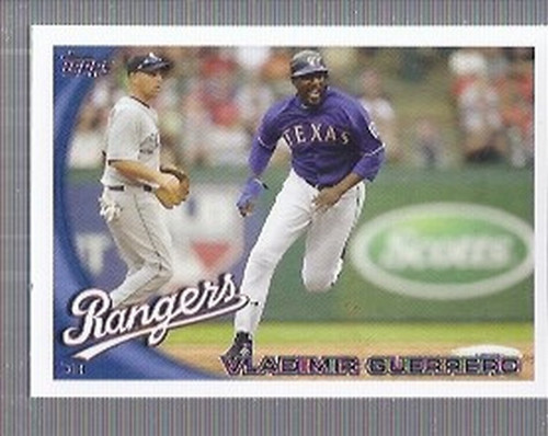 Photo of 2010 Topps Update #US1 Vladimir Guerrero -- Newest Hall of Famer -- Class of 2018