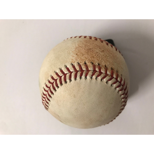Paul Goldschmidt Game Used Hit Single Baseball - 7/15/2018