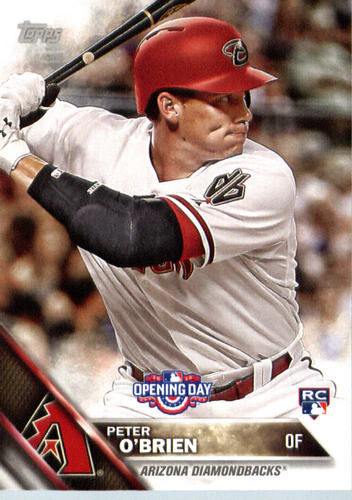 Photo of 2016 Topps Opening Day #OD158 Peter O'Brien RC
